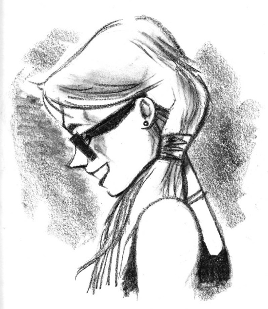 Girl With Glases