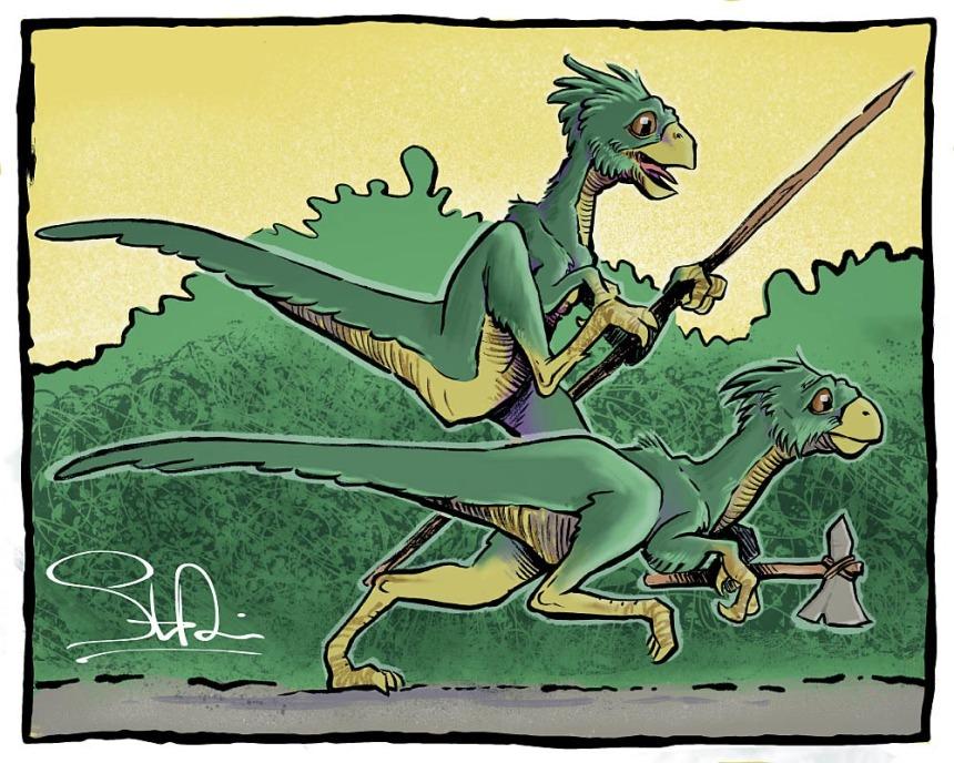 Evolved Dinos