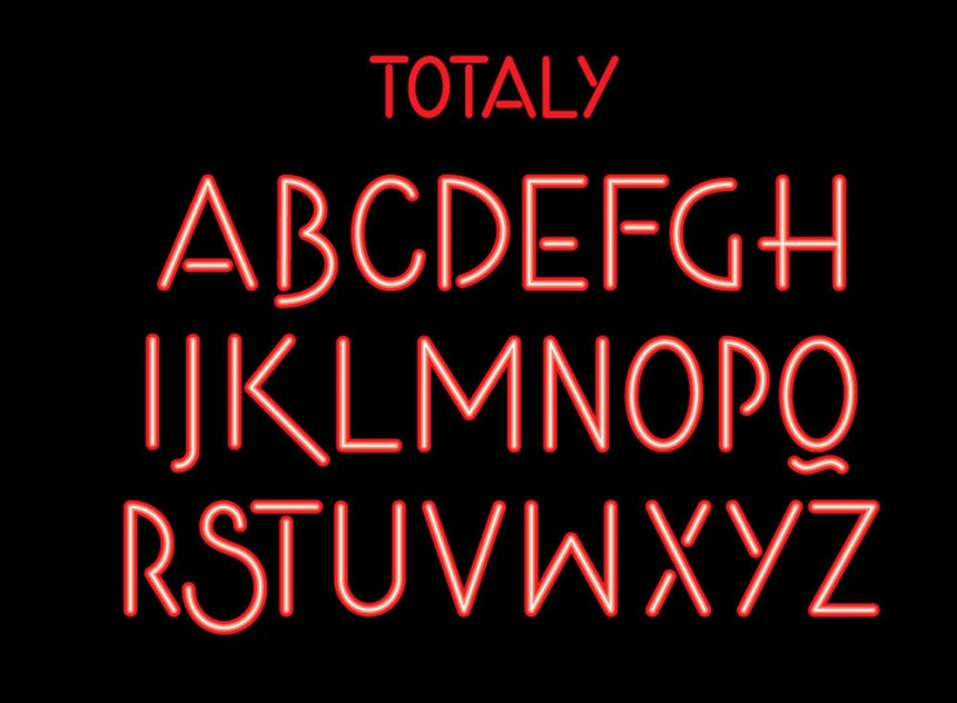 Totally 80s Font